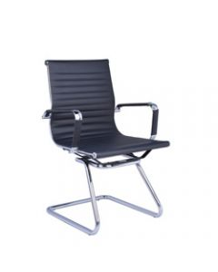 NAPLES VISITOR CHAIR,PU Cantilever Visitor Chair