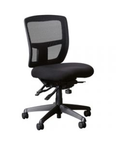 MIAMI II MESH CHAIR,No Arms,Mesh Manager with Ratchet Back