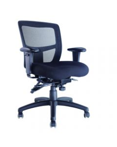 MIAMI II MESH CHAIR,With Arms,Mesh Manager with Ratchet Back