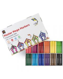 EDVANTAGE MASTER MEGO MARKERS Assorted Colours