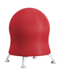 CHAIR SAFCO ZENERGY BALL,Red Fabric