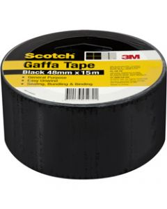 SCOTCH GAFFA TAPE,933 Utility,48mm X 15m Black