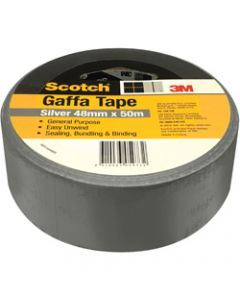SCOTCH GAFFA TAPE,933 Utility,48mm X 50m Silver