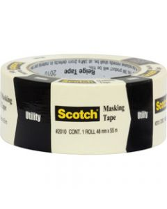 SCOTCH MASKING TAPE,2010 General Purpose,48MM X 55M Beige