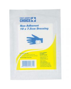 TRAFALGAR NON-ADHERENT,DRESSING 7.5 x 10cm,Pack of 10