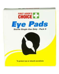 TRAFALGAR EYE PAD SINGLE,FAC Eye Pad Single