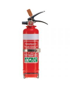 EXELGARD CO2 EXTINGUISHER,1Kg Abe Fire Ext + Bracket