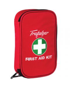 TRAFALGAR VEHICLE F/A KIT,Low Risk Kit Soft Case,Red