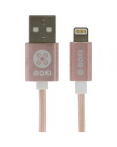 Moki Lightning Cable 3M,Rose Gold