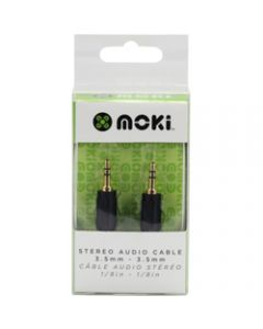 Moki Portable Audio Connection,Cable 3.5mm-3.5mm