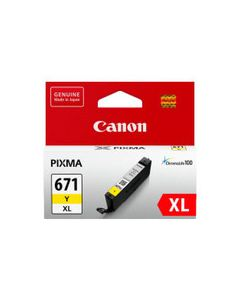 Canon Cli671Xly Inkjet Cartridge Yellow