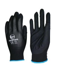 Frontier Nitrile Sand Finish Pf1 Glove Large Pair