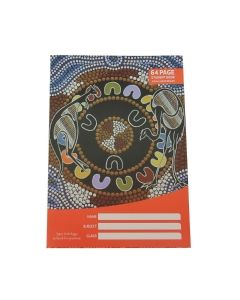 Cultural choice student exercise book 250 x 175mm 12mm ruled 64 pages - each