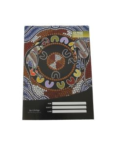 Cultural choice exercise book a4 8mm ruled 64 pages - each