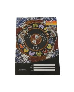 Cultural Choice exercise book aA 8mm ruled 96 pages - Pack - 10