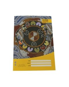 Cultural choice binder book a4 8mm ruled 64 pages - each