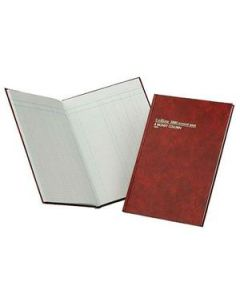 Account Book A4 Hardcover 84 Leaf 4 Money Column