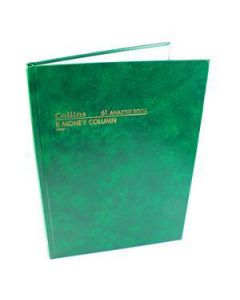 Account Book A4 Hardcover 84 Leaf 8 Money Column