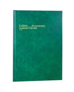 Account Book A4 Hardcover 84 Leaf 14 Money Column