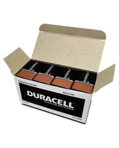 Battery Duracell Alkaline Coppertop 9V Bulk Box12