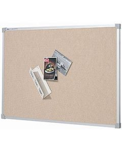 Board Pin 1200 X 900Mm Fabric Pinboard Bondi