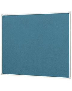 Board Pin 1200 X 900Mm Fabric Pinboard Wedgewood