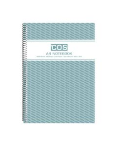 Book Spiral  A4 Notebook 240 Pages