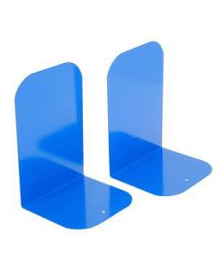 Bookend Esselte Metal Royal Blue Pair
