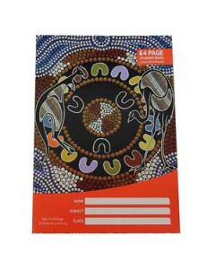Cultural Choice student exercise book 250 x 175mm 12mm ruled 64 pages - Pack of 20