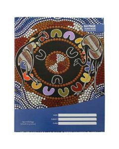 Cultural choice scrap book 100gsm 330 x 245mm 64 pages - Pack of 10