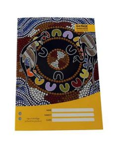 Cultural Choice binder book A4 8mm ruled 64 pages - Pack of 20