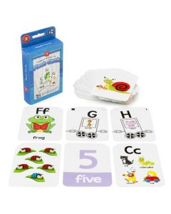 Alpha and Number Flashcards x 12 sets