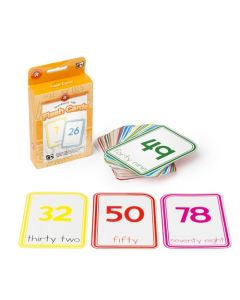0-100 Numbered Flashcards x 12 sets