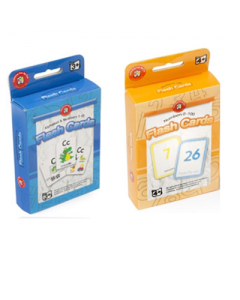 Alpha and Numerical Flashcards 6 sets ea of CC109085 and CC109090