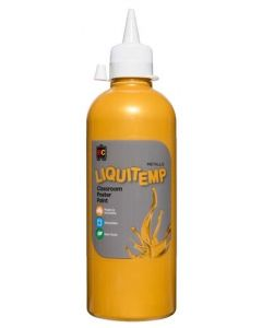 EDVANTAGE LIQUITEMP 500ML PAINT GOLD x 2 BOTTLES