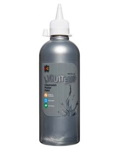 EDVANTAGE LIQUITEMP 500ML PAINT SILVER x 2 BOTTLES