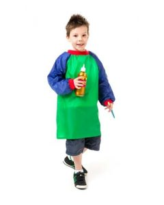 EDVANTAGE JUNIOR ART SMOCK GREEN X 5 SMOCKS