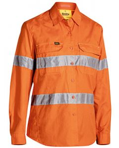 Womens 3M Taped X Airflow Ripstop Hi Vis Shirt