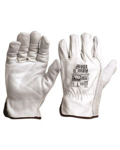 Glove - Leather Rigger ProChoice Riggamate Cow Grain Natural - Pack x 12