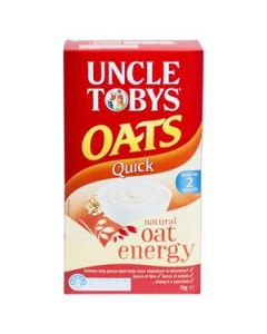Cereal Uncle Tobys Quick Oats 1Kg
