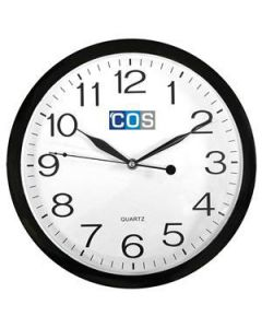Clock Office  300Mm Wall Black