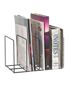 Desk Organiser Marbig Square Wire Book Rack