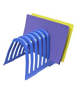 Desk Organiser Step File Large Blueberry