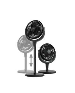 Fan Floor / Desk Nero Blo 20Cm Black Ea