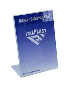 Holder Italplast I562 Docu A5 Port 210X148 Clear