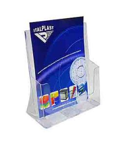 Holder Brochure Italplast I550 A4 1 Tier Clear