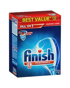 Finish Powerball All-in-One Tablets - Pkt112