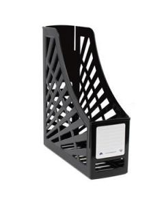 File Magazine Stand Greenr 100% Recycled Black