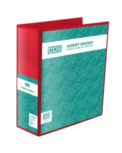 Binder Insert 3 *D* Rings 50Mm A4  Red
