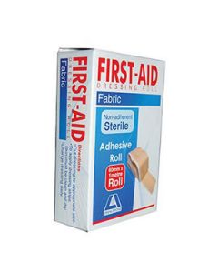 First Aid Dressing 60Mm X 1 M Adhesive Fabric Roll